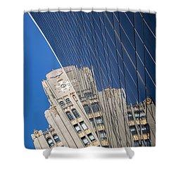 Nyc 585 Shower Curtain by Tony Maduro