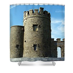 O Brien's Tower Cliffs Of Moher Ireland Shower Curtain by Teresa Mucha