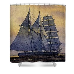 Ocean Dawn Shower Curtain by James Williamson
