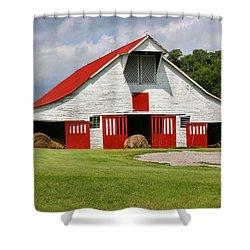 Old Barn Shower Curtain by Kristin Elmquist