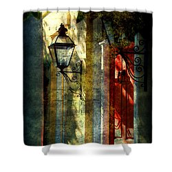 Old Charleston Sc Shower Curtain by Susanne Van Hulst