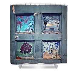 Old Doorways Shower Curtain by Tara Turner