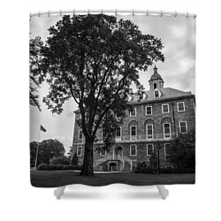 Old Main Penn State Shower Curtain by John McGraw