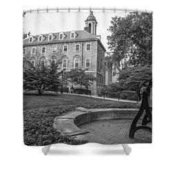 Old Main Penn State University  Shower Curtain by John McGraw