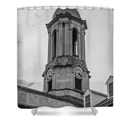 Old Main Tower Penn State Shower Curtain by John McGraw
