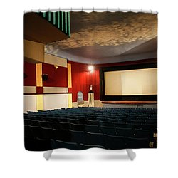 Old Theater Interior 1 Shower Curtain by Marilyn Hunt