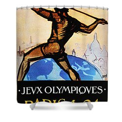 Olympic Games, 1924 Shower Curtain by Granger