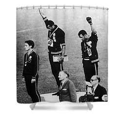 Olympic Games, 1968 Shower Curtain by Granger