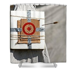 On Target Shower Curtain by Christopher Holmes