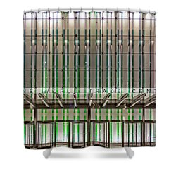 One World Trade Center Wtc Shower Curtain by Susan Candelario