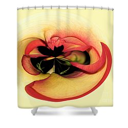 Open To Imagination Shower Curtain by Teresa Zieba