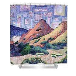 Opening The Dream Window Shower Curtain by Dale Beckman