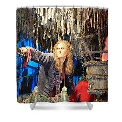 Orlando Bloom Shower Curtain by Qingrui Zhang