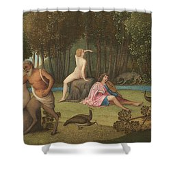 Orpheus Shower Curtain by Venetian School