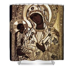 Our Lady Of Yevsemanisk Shower Curtain by Granger