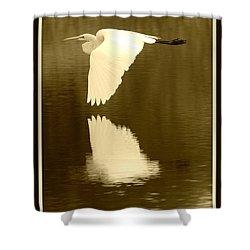 Over Golden Pond Shower Curtain by Carol Groenen
