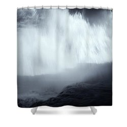 Overshadowed By Nature Shower Curtain by Mike  Dawson