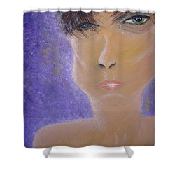 Painful Life Shower Curtain by Donna Blackhall