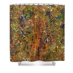 Paint Number 25 Shower Curtain by James W Johnson