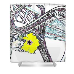 Pause To Contemplate 2 Shower Curtain by Will Borden