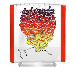 Pele Dreams Shower Curtain by Diane Thornton