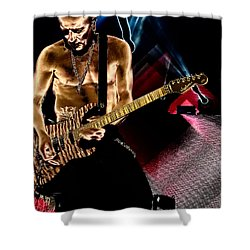 Phil Collen Of Def Leppard 3 Shower Curtain by David Patterson