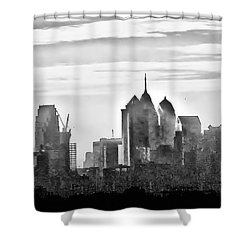 Philadelphia Shower Curtain by Bill Cannon
