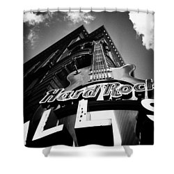 Philadelphia Hard Rock Cafe  Shower Curtain by Bill Cannon