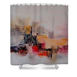 Phoebus Shower Curtain by Francoise Dugourd-Caput