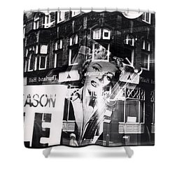 Photograph Of Marilyn Shower Curtain by Charles Stuart