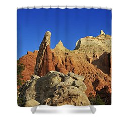 Pilgrim Shower Curtain by Skip Hunt