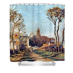 Pissarro: Voisins, 1872 Shower Curtain by Granger