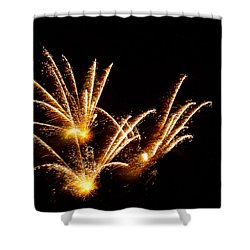 Poof Shower Curtain by Phill Doherty