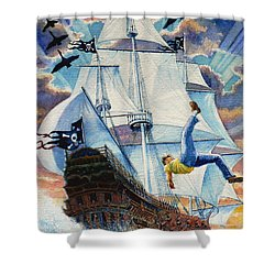 Pooka Hill 11 Shower Curtain by Hanne Lore Koehler