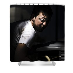 Poor Shower Curtain by Jorgo Photography - Wall Art Gallery