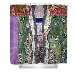 Portrait Of Adele Bloch-bauer II Shower Curtain by Gustav Klimt
