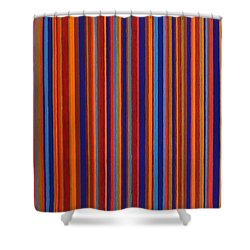 Post Pictura Shower Curtain by Oliver Johnston