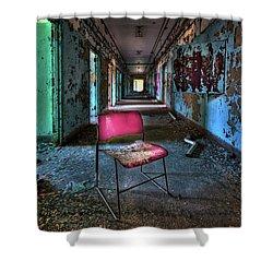 Presence Shower Curtain by Evelina Kremsdorf