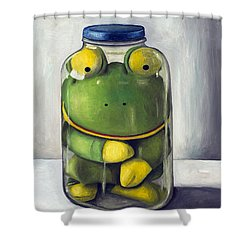 Preserving Childhood Upclose Shower Curtain by Leah Saulnier The Painting Maniac