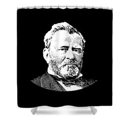 President Ulysses S. Grant Shower Curtain by War Is Hell Store