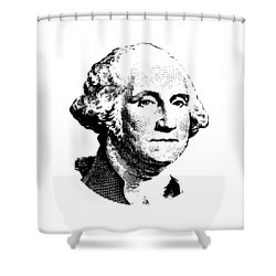 President Washington Shower Curtain by War Is Hell Store