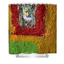 Pretty As A Picture Shower Curtain by Skip Hunt