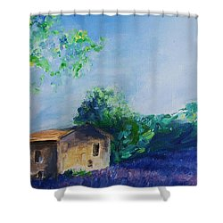Provence House Shower Curtain by Eric  Schiabor