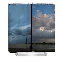 Purgatory Shower Curtain by James W Johnson