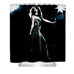 Queen Taylor Shower Curtain by Brian Reaves