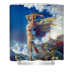 Rapture And The Ecstasea Shower Curtain by Patrick Anthony Pierson