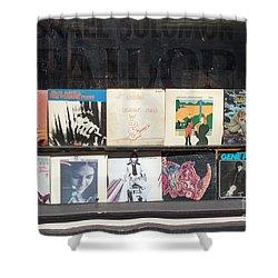 Record Store Burlington Vermont Shower Curtain by Edward Fielding