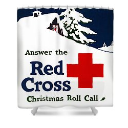 Red Cross Poster, C1915 Shower Curtain by Granger