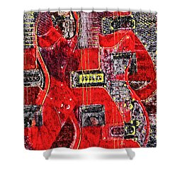 Red Devil Shower Curtain by Bill Cannon