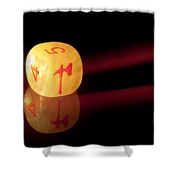Reflections Shower Curtain by Marc Garrido